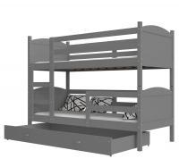 Dětská patrová postel MATYAS 3 Color 200x90