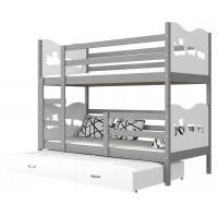 Dětská patrová postel MAX 3 Color 200x90 cm
