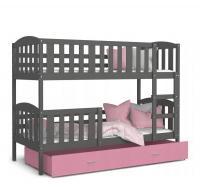 Dětská patrová postel KUBU Color 190x80 cm