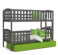Dětská patrová postel KUBU Color 200x90 cm