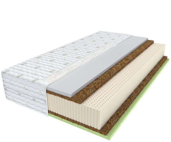 Latexová matrace ELPASO s pěnou Convoluted rolls latex a kokosem
