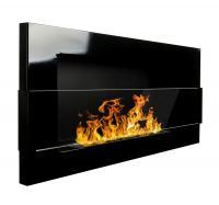 Ochranné sklo k BIO KRBU 900x400 černá lesk
