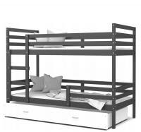 Dětská patrová postel JACEK barevný 80x190