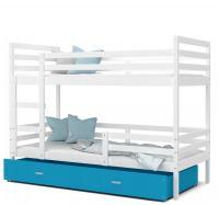 Dětská patrová postel JACEK barevný 90x200