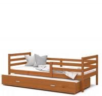 Dětská postel s přistýlkou JACEK P2 dřevěný 80x190