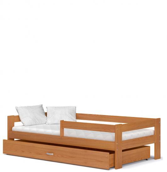 Dětská postel HUGO 160x80 dřevěná