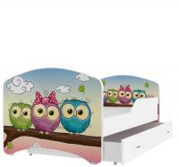 Pohádková postel IGOR 180x80 se šuplíkem