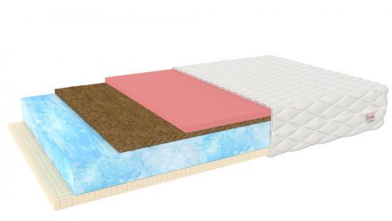 Pěnová matrace PORTO kokos latex visco