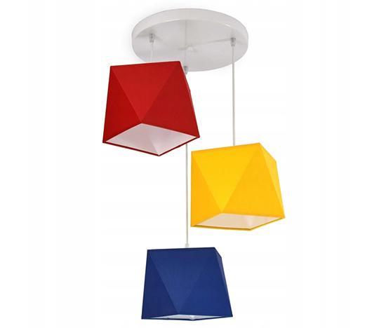 Závěsné svítidlo  DIAMENT LED 299-E3 barevná