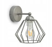 Závěsné svítidlo EDISON 724-K1 šedá