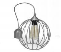 Závěsné svítidlo LOFT 804-Z1 stříbrná