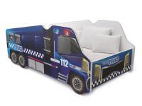 Dětská postel TRUCK AUTO 140x70 policie