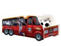 Dětská postel TRUCK AUTO 140x70 football