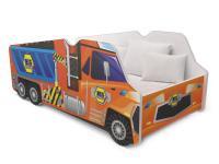 Dětská postel TRUCK AUTO 140x70 tahač