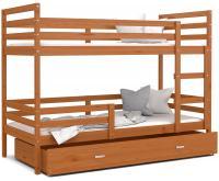 Dětská patrová postel JACEK 160x80 cm OLŠE