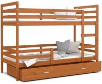 Dětská patrová postel JACEK 200x90 cm OLŠE