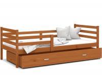 Dětská jednolůžková postel JACEK P 190x80 cm OLŠE