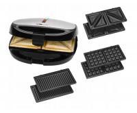 Clatronic ST/WA 3670 Multi gril 3v1 sendvičovač,vaflovač a gril