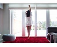 Sametově hebký koberec SHOCK BORDO 160x230 cm