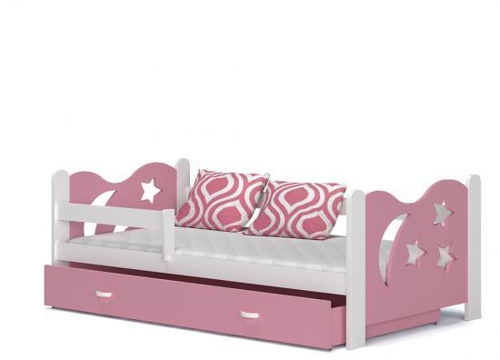 Moderní dětská postel MIKOLAJ Color
