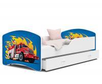 Dětská postel IGOR bez supliku 140x80 VZOR 49 VÝPRODEJ