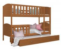 Dětská patrová postel TAMI 3 190x80cm OLŠE VYPRODEJ
