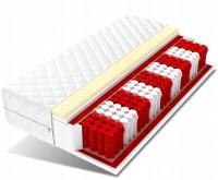 Taštičková matrace DIONE MAX s vrstvou LATEXU
