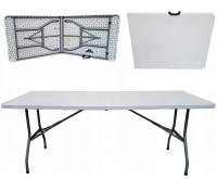Rozkládací stůl HEXA 180x74cm BÍLÁ