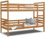 Dětská patrová postel JACEK bez šuplíku 190x80 cm OLŠE